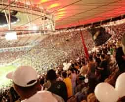 Football match at the Maracanã