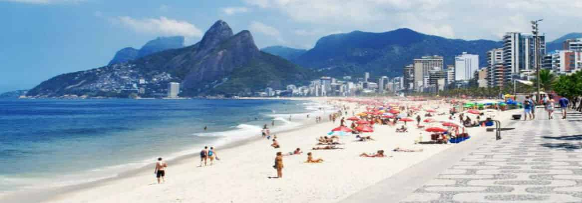 Four blocks from Ipanema Beach