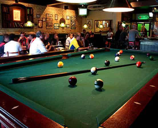 Play Pool at Shenanigan's