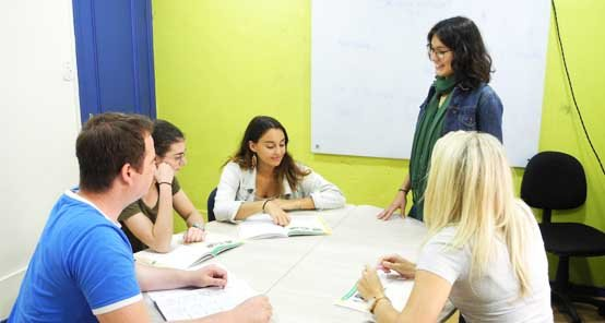 language school in ipanema beach